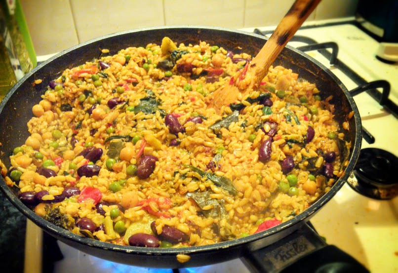 The Perfect Plant-Based Paella