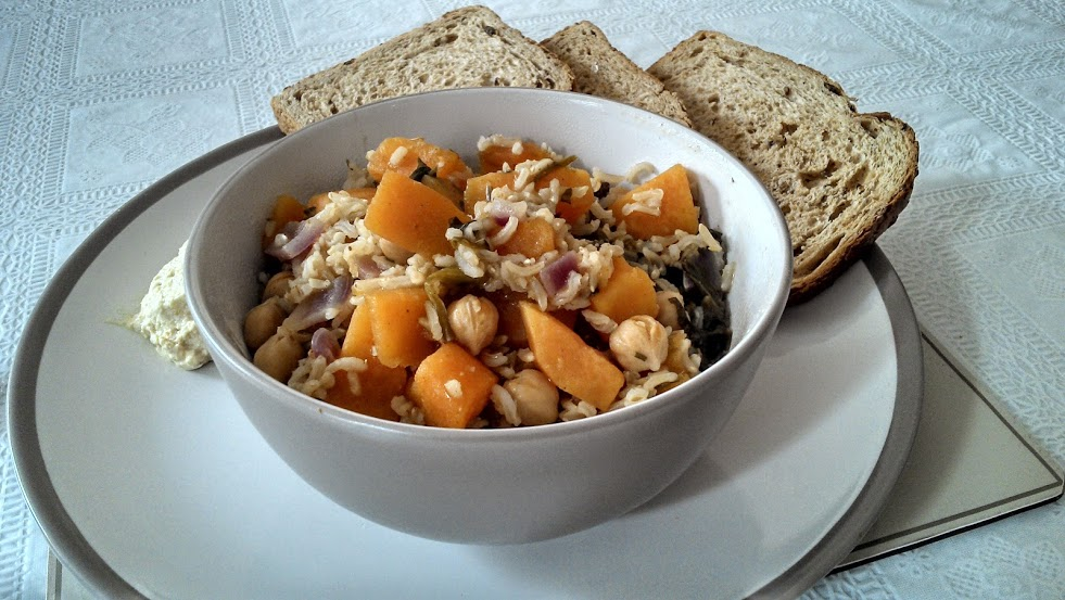 African Sweet Potato and Chickpea Soup Recipe (vgn) (gf)