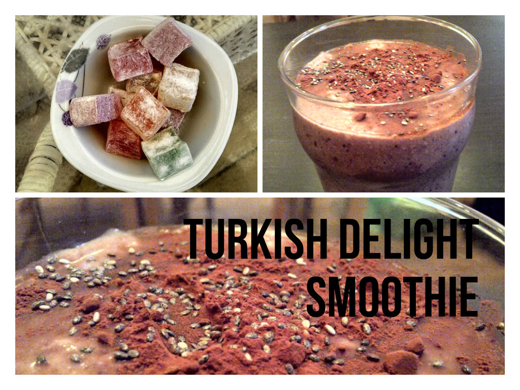 Vegan Turkish Delight Smoothie Recipe