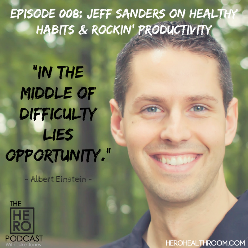 008 | Jeff Sanders on Healthy Habits & Rockin' Productivity