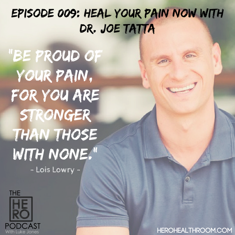 009 | Heal Your Pain Now With Functional Medicine Practitioner Dr. Joe Tatta