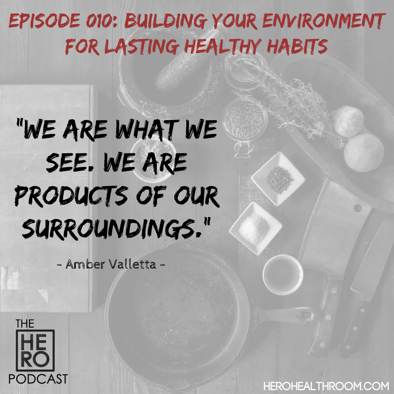 010 | Building Your Environment for Lasting Healthy Habits