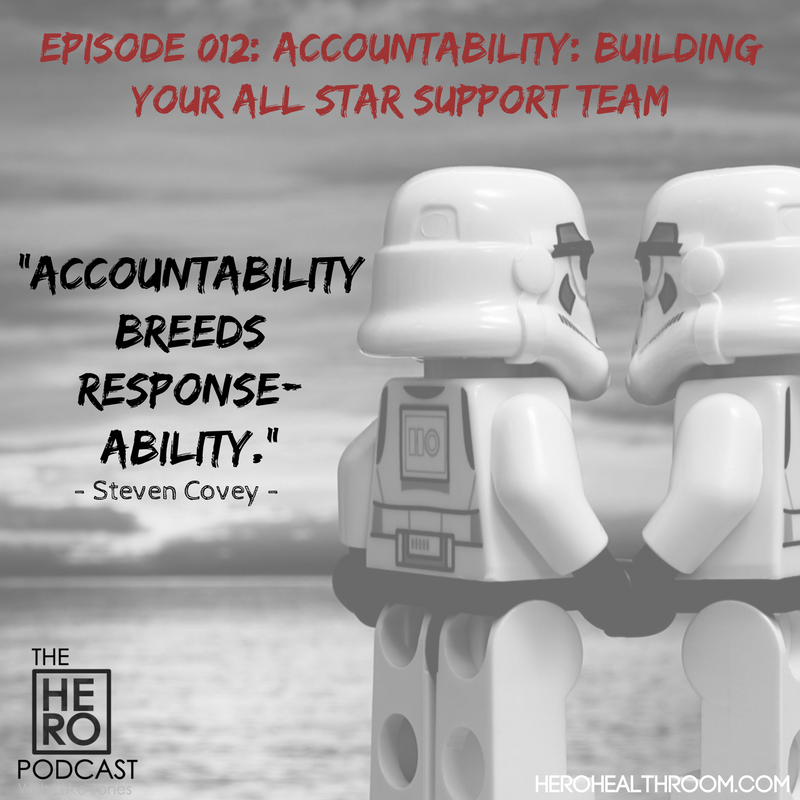 012 | Accountability: Building Your All Star Support Team