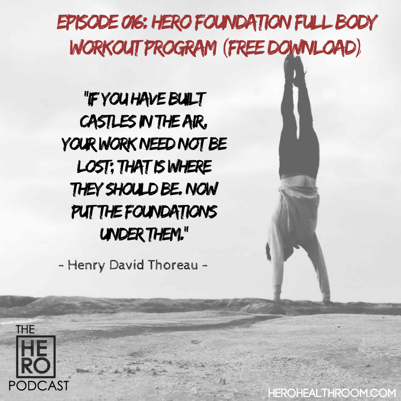 016 | HERO Foundation Full Body Workout Program (Free Download)